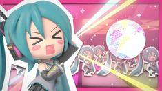 "Hatsune Miku ""Project mirai 2"" OP song - Ageage Again [Full PV]"
