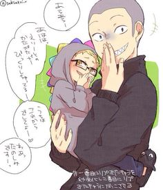 Haikyuu - Love this one :) Tsukishima is just a small child in here and he already looks so mean!