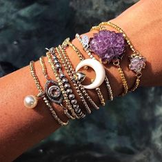 A gorgeous wrist party by Jugar N Spice. Tap on photo for details on our insta.