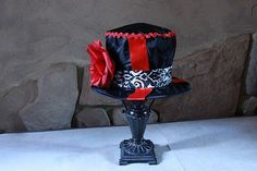 Top Hat Tea Party Cap Circus Ringmaster by HandpickedHandmade