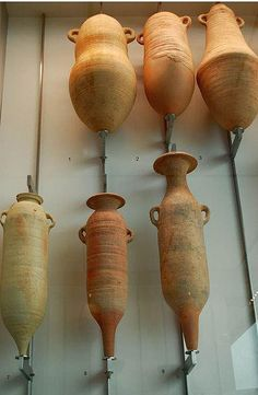 "The Phoenicians transported wine across the Mediterranean in amphorae vessels once known as the ""Canaanite jar""."