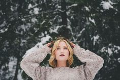 """""""The Beginning"""" featuring Kaitlin by Bethanie Marie Photography Winter Photography, Photography Editing, Portrait Photography, Yule, Wild Girl, Winter Photos, Fashion Photography Inspiration, Bandeau, Photoshoot"""