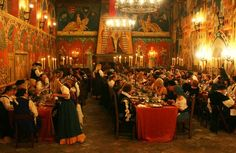 medieval feast halls | Medieval Evening at Castello di Amorosa