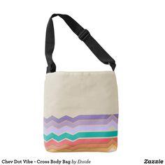 Chev Dot Vibe - Cross Body Bag
