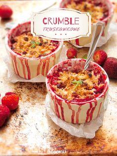 Crumble truskawkowe - Cookuj - udane gotowanie | Blog kulinarny