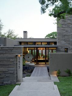 Mt Barker Residence, Contemporary Entry, Austin