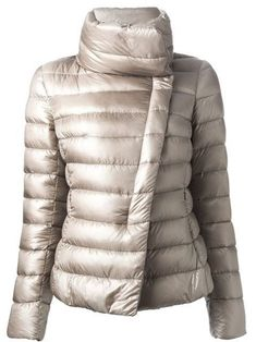 Shop Herno padded jacket in D'Aniello from the world's best independent… Coats For Women, Jackets For Women, Concept Clothing, Red Bomber Jacket, Puffy Jacket, Padded Jacket, Down Coat, Outerwear Women, Sweater Weather