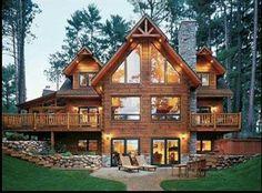 Pretty cabin house