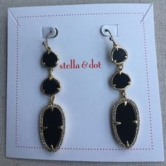 """I just added this to my closet on Poshmark: Allegra Earrings. Price: $29 Size: 2 1/4"""" drop"""