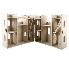 ArtMinds™ Wood Castle DollhouseArtMinds Wood Castle Dollhouse