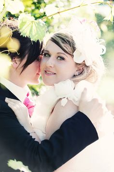 LGBT Wedding, so sweet. I like boys but they're adorable!