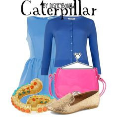 """""""Caterpillar"""" by lalakay on Polyvore #disney"""