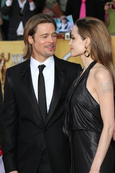 Brad Pitt and Angelina Jolie. I will always hate how he dumped Jen, but I think these two have something that can't be denied.