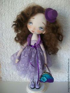 Коллекционные куклы ручной работы. Ярмарка Мастеров - ручная работа Интерьерная кукла Селия. Handmade.