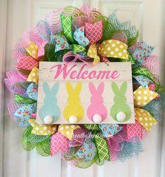 Easter wreath, Easter decor