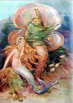 The Little Mermaid - Fairy Stories from Hans Christian Andersen, 1910