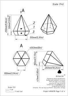 Geometric Decor, Geometric Designs, Stained Glass Patterns, Stained Glass Art, Metal Clock, Glass Terrarium, Wall Art Designs, Print Patterns, Digital Prints