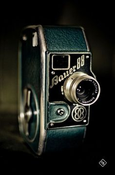 Follow My Pinterest: ~CameraCatherine ~ Bauer 888mm movie camera