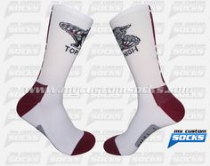 Elite Style socks designed by My Custom Socks for Toppenish High School in Toppenish, Washington. Wrestling socks made with Coolmax fabric. #Wrestling custom socks - free quote! ////// Calcetas estilo Elite diseñadas por My Custom Socks para Toppenish High School en Toppenish, Washington. Calcetas para Lucha hechas con tela Coolmax. #Lucha calcetas personalizadas - cotización gratis! www.mycustomsocks.com