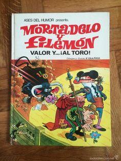Colección Mortadelo y Filemon - Foto 1 Bullen, Retro Toys, Humor, Clever, Nostalgia, Lettering, Cartoon, Kiosk, Cool Stuff