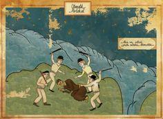 Este artista recrea escenas míticas del cine como si fuera arte del imperio otomano | Murat Palta decidió situar fotogramas icónicos de pelí...