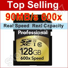 Brand New 90MB/s 600x 16GB 32GB 64GB 128GB SD Card SDHC SDXC Class 10 Flash Memory Card UHS-I For Canon Nikon Digital SLR Camer