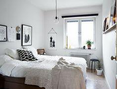 Boho Deco Chic: Inspiración y cálidez de un dormitorio blanco y negro