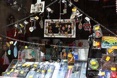 The little souvenir shops in St. Julian's, Malta