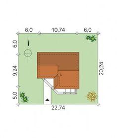 DOM PROJEKT SZYPER 4 DR-S 88 m² -