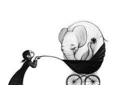 baby elephant - Noemí Villamuza