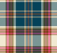 In the pink Textile Patterns, Print Patterns, Textiles, Web Design Websites, Xmas Pictures, Framed Wallpaper, Diy Crafts For Gifts, Tartan Pattern, Shell Crafts