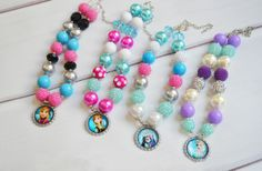 GroopDealz | Princess Inspired Chunky Necklaces