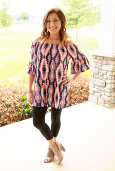 Tempt Me Tunic Dress