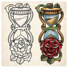 Hourglass Flash