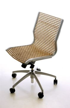 Taksi chair - Arkkitehtuuritoimisto Valvomo OyArkkitehtuuritoimisto Valvomo Oy Extruded Aluminum, Wooden Beads, Warm, Chair, Furniture, Design, Home Decor, Decoration Home, Room Decor