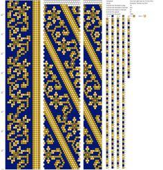 Photo Crochet Beaded Bracelets, Bead Crochet Rope, Beaded Jewelry Patterns, Beading Patterns, Seed Bead Flowers, Beaded Flowers, Loom Patterns, Crochet Patterns, Crochet World