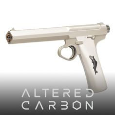 Altered Carbon - Other Weapons, WETA WORKSHOP DESIGN STUDIO on ArtStation at https://www.artstation.com/artwork/nR4aO