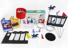 Exemplos de Caixas Surpresas tematicas para criancas com todos os materiais incluidos!