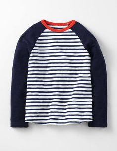 Mini Boden Raglan T-shirt Ecru/Storm Stripe/Midnight Boys Whether youre scoffing popcorn at the cinema or pedalling your bike through the park, you always need a cosy T-shirt to keep you company. This one is made from thick textured cotton that will keep you http://www.MightGet.com/january-2017-13/mini-boden-raglan-t-shirt-ecru-storm-stripe-midnight-boys.asp