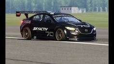 Mazda 6 Race at Top Gear Testing