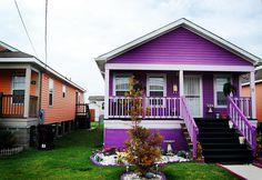 purple house   Flickr -