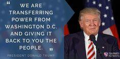 PRESIDENT TRUMP  #45