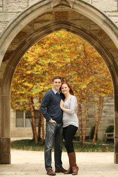 Beautiful Fall Engagement Session LauraSuprenantPhotography.com