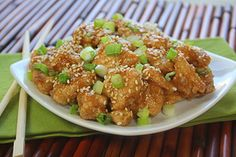 Sweet & Sticky Sesame Chicken | Recipes for Healthy Meals, Low-Calorie Snacks & More | Hungry Girl
