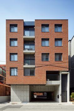 Villa Design, House Design, Architectural Digest, 5 Bedroom House Plans, Apartment Design, Interior Architecture, Beautiful Homes, Brick, Exterior