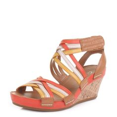 Clarks Womens Sandals - Wedges