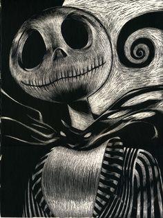 before christmas drawings sketches halloween Arte Horror, Horror Art, Christmas Drawing, Christmas Art, Jony Depp, Desenhos Tim Burton, Jack Y Sally, Nightmare Before Christmas Tattoo, Dark Disney