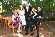 best men and maid of honor