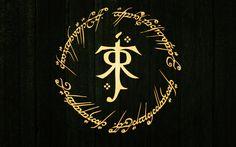 DeviantArt: More Like Tolkien logo wallpaper 1440x900 by dmiguez