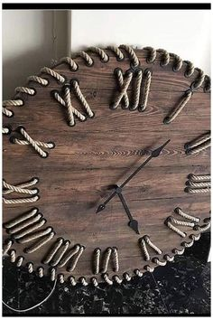 Home Crafts, Diy Home Decor, Small Wood Projects, Wall Clock Design, Diy Clock, Wood Clocks, Woodworking Projects Diy, Wooden Art, Diy Furniture